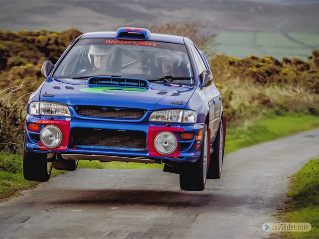 Manx National Rally 2014 Mull Hill